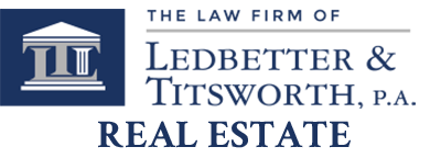 Ledbetter & Titsworth, P.A. Real Estate Logo